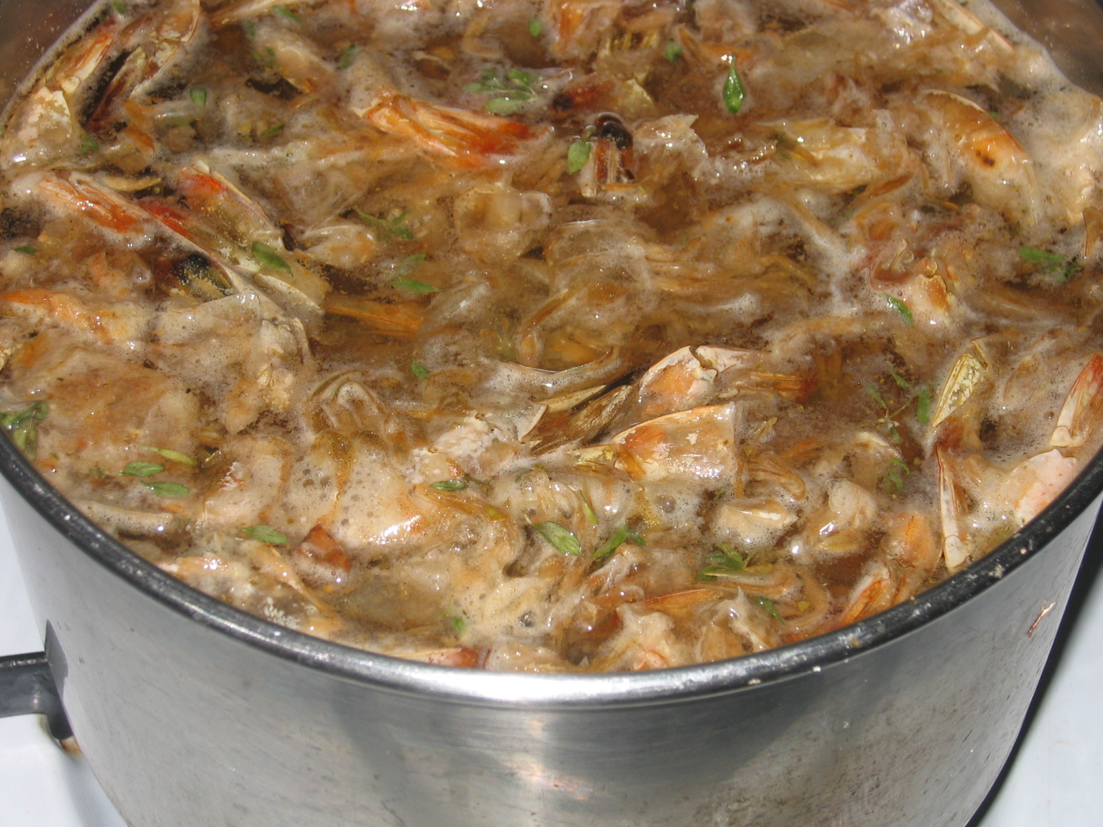 Shrimp stock for okra for shrimp and andouille sausage gumbo recipe